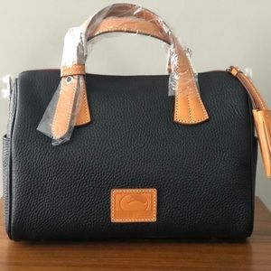 NWT - Dooney & Burke Pebble Leather Satchel